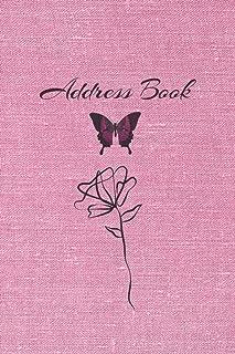 address books with alphabet index: A-Z Address Book.address book with tabs.address book with alphabetical tabs. Notebook f...