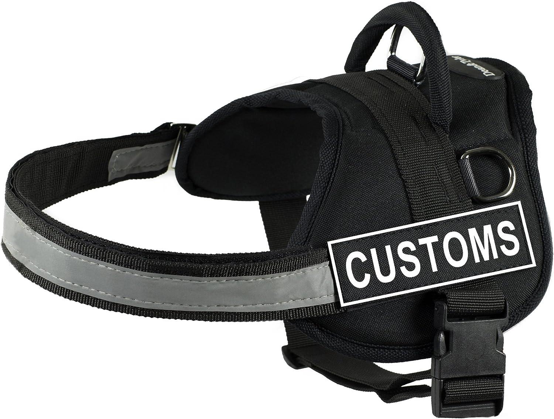 DT Las Vegas Mall Max 59% OFF Works Harness Customs Black White Fits - X-Small Siz Girth
