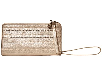 The Sak Silverlake Soft Wallet (Nude Paillettes) Clutch Handbags