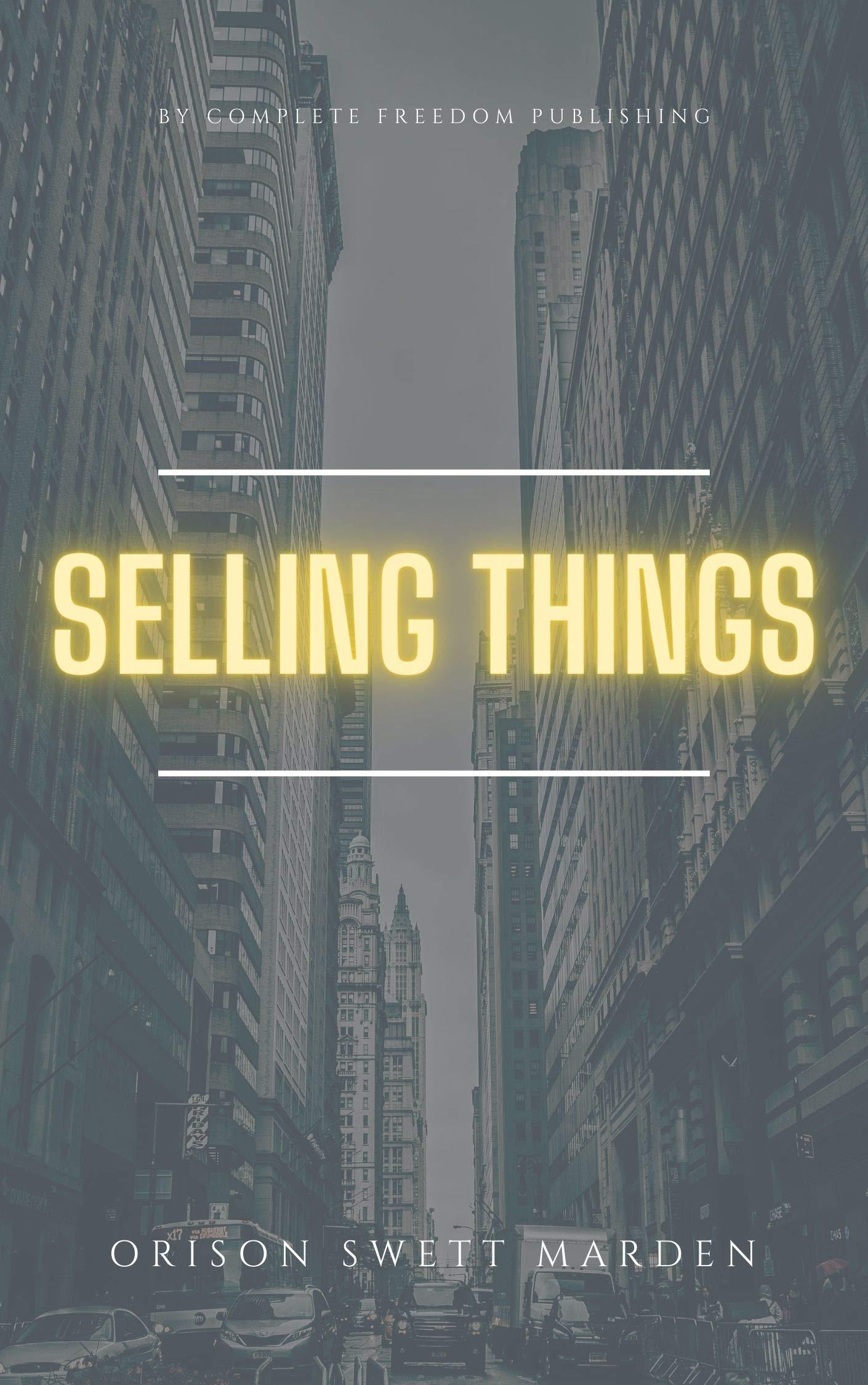 Selling Things