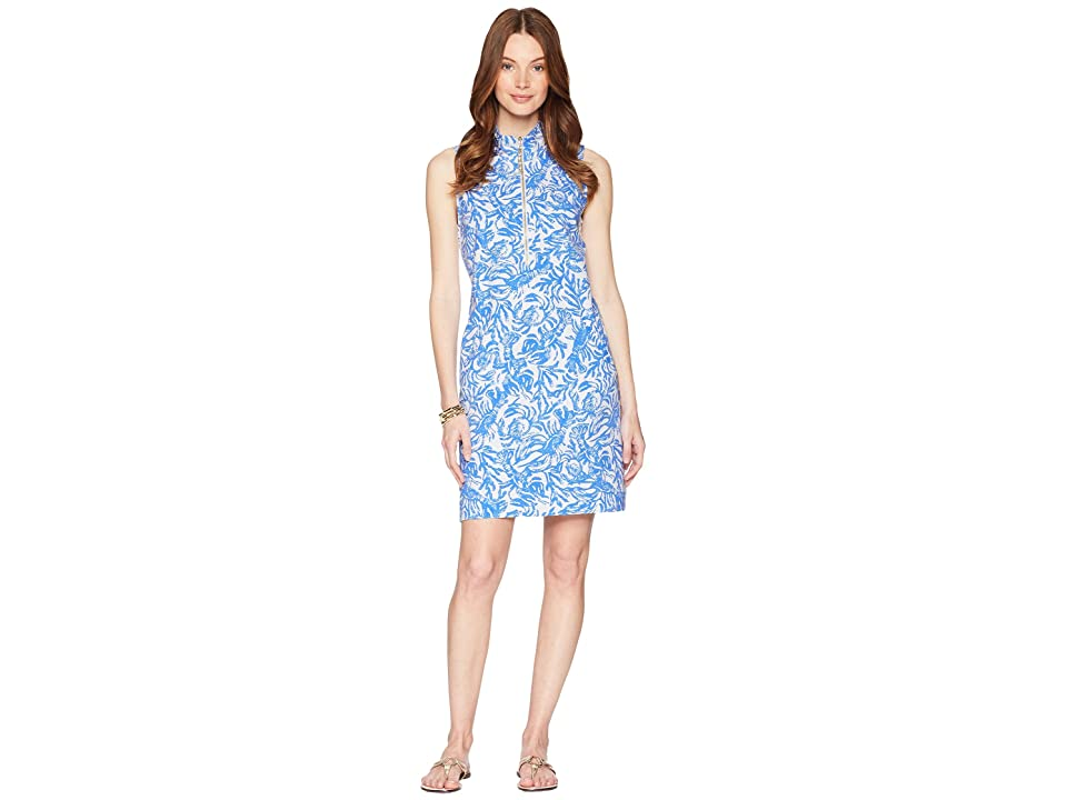 Lilly Pulitzer Skipper Sleeveless Dress (Resort White On A Roll) Women