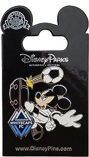 Disney Pin - MLS - Mickey as Vancouver Whitecaps Soccer Player