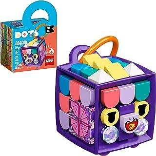LEGO® DOTS Bag Tag Dragon 41939 DIY Craft Decoration Kit (82 Pieces)