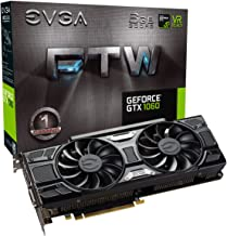 EVGA GeForce GTX 1060 6GB FTW GAMING ACX 3.0, 6GB GDDR5, LED, DX12 OSD Support (PXOC) Graphics Card 06G-P4-6268-KR