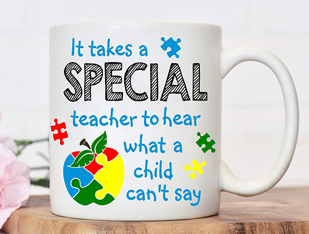 Teacher Appreciation Gift Autism Awareness Gift For Autism Awareness Day 2019