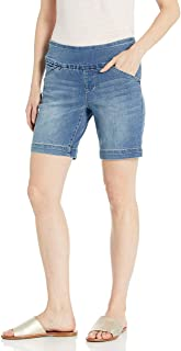 "Jag Jeans Women's Ainsley Pull on 8"" Short"