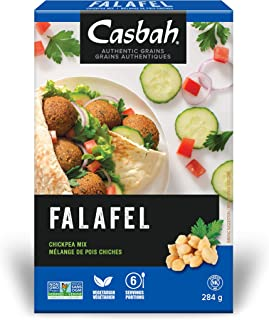 Casbah Authentic Grains, Falafel Chickpea Mix, 10 Ounce (Pack of 12)