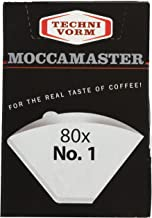 Technivorm Moccamaster 85090 Cup-One Paper Filters, Size, White