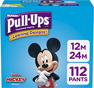 Pull-Ups Learning Designs Potty Training Pants for Boys, 12-24 Months (14-26 Pound), 112 Count (Packaging May Vary)
