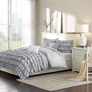 Best gray ruffle comforter Reviews