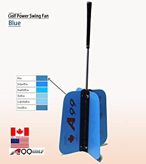 A99 Golf Power Swing Fan Training Aid Practice Club New, Length: 79cm or 91cm