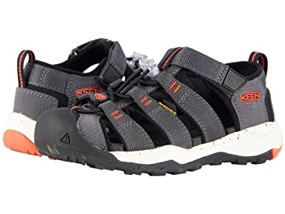 KEEN Kids Newport Neo H2 (Little Kid/Big Kid) (Magnet/Spicy Orange) Boy
