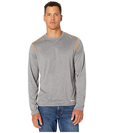 Timberland PRO Wicking Good Sport Long Sleeve T-Shirt (Medium Grey Heather) Men