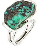 King Baby Studio - Wire Ring w/ a Natural Turquoise Stone