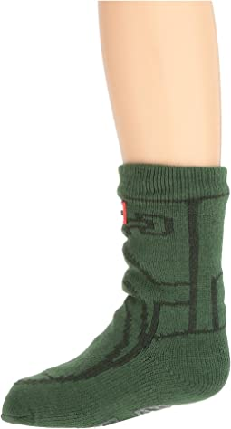 Hunter Kids Original Boot Slipper Socks (Toddler/Little Kid/Big Kid)