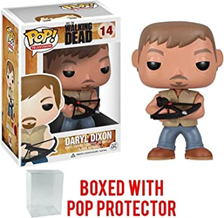Funko Pop TV: The Walking Dead - Daryl Dixon with Crossbow #14 Vinyl Figure (Bundled with Pop Box Protector Case)