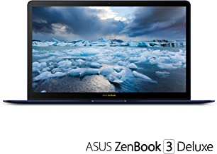 "ASUS UX490UA-IH74-BL ZenBook 3 Deluxe 14"" FHD Ultraportable Laptop, Intel Core i7-8550U, 16GB RAM, 512GB SSD, Windows 10 P..."