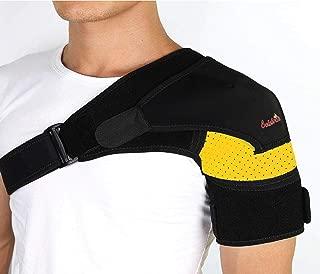 Shoulder Brace-Shoulder Compression Sleeve Strap wrap Provides Support & Ease in Rotator Cuff, Shoulder Pain & Labrum Tear Injury for Men & Women.