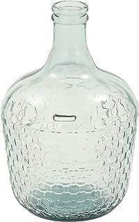 Deco 79 18221 Glass Wide Bottle Vase, 10