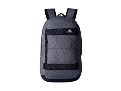 Nike SB Courthouse All Over Print Backpack (Black/Black/Mountain Blue) Backpack Bags