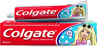Colgate Kids Toothpaste 6+ Barbie, 50ml