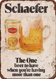 Best schaefer beer sign Reviews