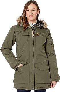 Fjallraven Women's Nuuk Parka W Sport Jacket, Green, XS