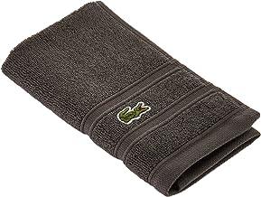"""Lacoste Croc Towel, 100% Cotton, 650 GSM, 13""""x13"""" Wash Towel, Cliff"""