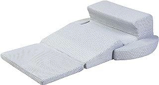 フランスベッド 枕 ホワイト いびき対策快眠枕シリーズ スノーレスピロー 独自のフォルムで快適な横向き寝 360146000 シングル