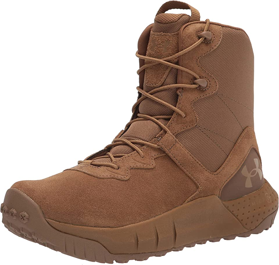 Under Armour Men's Micro G Valsetz Lthr Military and Tactical Boot