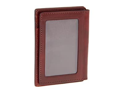 Bosca Old Leather Collection Front Pocket Wallet (Cognac Leather) Bill-fold Wallet