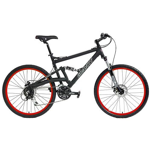0f98877d796 2018 Gravity FSX 2.0 Dual Full Suspension Mountain Bike Shimano Acera  Suntour