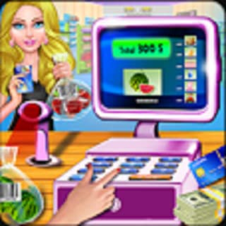 Supermarket Cash Register Grocery Store Cashier Game, Fun Shopping Mall Time Management Game Free