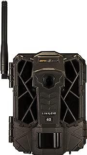 SPYPOINT LINK-EVO-V Cellular Trail Camera, 4G/LTE, 12MP HD Video, High Power LEDs&Infrared Boost Tech, 0.3s Trigger Speed, 80' Detect&90' Flash, EASY SETUP ((1) LINK-EVO-V)