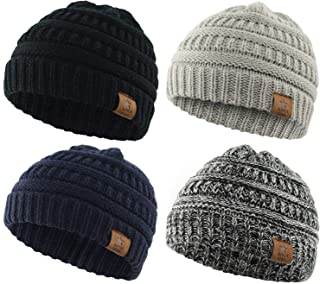 American Trends Infant Toddler Winter Baby Beanie Hat Warm Cute Soft Stretchy Boys Girls Knit Hat