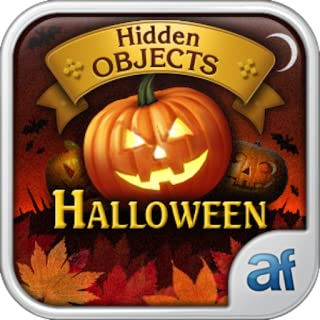 Hidden Objects Halloween & 3 puzzle games