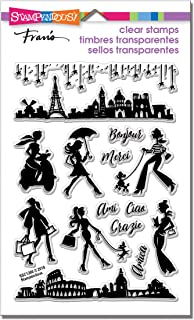 Stampendous Perfectly Clear Stamps Sassy Travel, 4 x 5.75