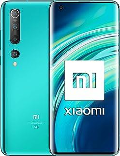 """Xiaomi Mi 10 16,9 cm (6.67"""") 8 GB 128 GB Dual SIM 5G USB Typ-C turkos 4780 mAh Mi 10, 16,9 cm (6.67 tum), 2340 x 1080 pixl..."""