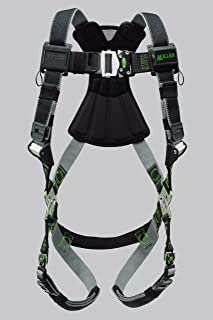 Miller Revolution Full Body Safety Harness with Quick Connectors, Size 2X & 3X, 400 lb. Capacity (RDT-QC/XXL/XXXLBK)