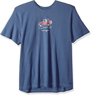 Life is Good Mens Road Trip Graphic T-Shirts Vintage Collection