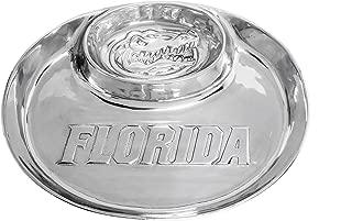 Arthur Court Aluminum University of Florida Gator Chip & Dip Serving Tray 14 inch Long Designs