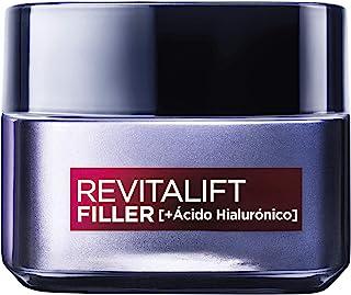 LOréal Paris Dermo Expertise Revitalift Filler - Crema de día volumizadora con ácido hialurónico para pieles maduras 50 ml