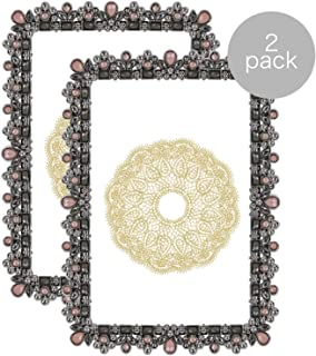 Parisian Home Pastel Perfection Decorative Picture Frame for 4