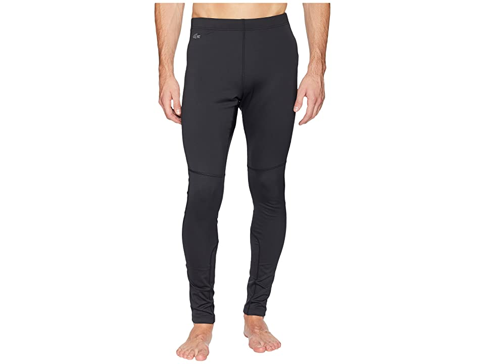 Lacoste Performance Leggings (Black) Men