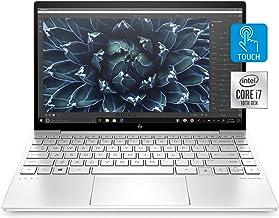 "HP Envy 13 Laptop, Intel Core i7-1065G7, 8 GB Ram, 256 GB SSD Storage, 13.3"" Full HD Touchscreen, Windows 10 Home, Fingerp..."