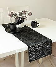مفرش طاولة بنسون ميلز لي ويب (أسود، 13 بوصة × 72 بوصة)
