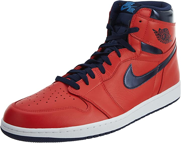 Nike air jordan 1 retro high og, scarpe da basket uomo 555088-606
