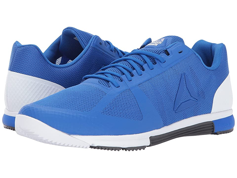 Reebok CrossFit(r) Speed TR 2.0 (Vital Blue Black White Ash Grey Silver)  Men s Cross Training Shoes d72810310