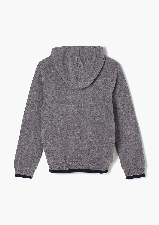 s.Oliver Jungen Softes Sweatshirt mit Wording