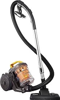 Solac Multiclonic-Aspirador multicicl?nico (800 W, Filtro HEPA, 2 cepillos, Capacidad 3 litros, accessorios), Naranja y Negro